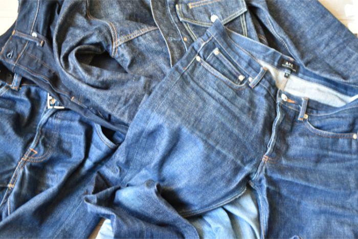服とジーンズとDIYログ